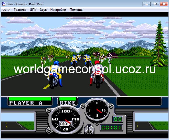 Игры для Sega Mega Drive - Каталог файлов - The world of game consoles