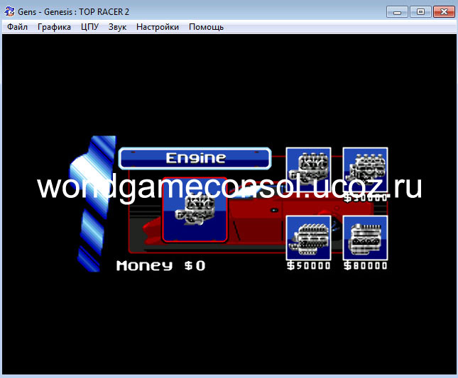 Top Gear 2 - Игры для Sega Mega Drive - Каталог файлов ...